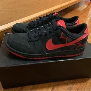 """Nike Dunk Low """"(PRODUCT) red"""" unreleased sample"""